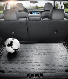 Килимок гумовий в багажник (з днищем багажника, для автомобілів 2019 року випуску)