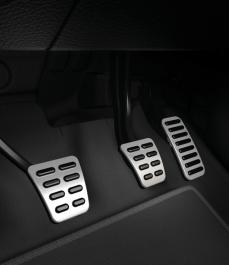 Накладки на педалі (МКПП, з обмежувачом швидкості, LHD)