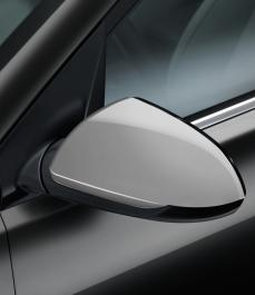 Накладки на бічні дзеркала заднього огляду (срібло, без повторювачів)