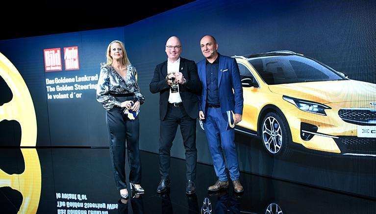 Auto Bild нагородив новий Kia XCeed «Золотим кермом»!